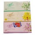 清风抽纸 盒装面巾纸 B333B 2层 130抽 3盒/提 抽纸 盒装面纸 抽取式面巾纸 1提装