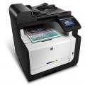 惠普(HP) LaserJet Pro CM1415fn 彩色多功能激光一体机 4合1(打印 复印 扫描 传真)