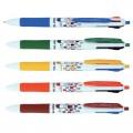 晨光 MF-1006 0.5mm 四色圆珠笔