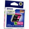 爱普生(Epson)T0763 洋红色墨盒 C13T076380(适用ME2/ME200)