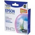 爱普生(Epson)T0473 洋红色墨盒 C13T047380BD(适用StylusC63/C65/CX3500)