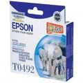 爱普生(Epson)T0492 青色墨盒 C13T049280BD(适用Photo R210 230 310)
