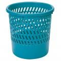 得力(deli)9553 圆形 纸篓  塑料垃圾桶 直径26cm