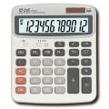 得力(deli)1603 12位 大号 通用型桌面计算器