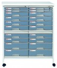 得力(deli)900-20 文件橱 二十层文件柜 带锁