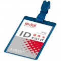 得力(deli)5743 PP夹式证件卡(竖式)