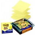 3M Post-it R330 76mm*76mm 黄色 2本装 抽取式便条纸(送底座)抽取式系列便条纸