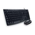罗技(Logitech)MK200 多媒体键鼠套装 USB键盘 USB光学鼠标