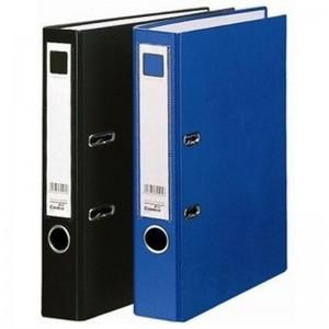 齐心(Comix)A206 A4 3寸 2孔快劳夹 55mm快劳夹(黑色 蓝色)