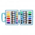 包邮 deli得力 7051 水彩笔 12色塑盒装 12支/盒