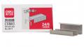 得力订书订 0011 24/6 不锈钢订书针 通用12# 书针桌面办公用品1000枚/盒