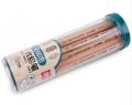 得力 S943 原木铅笔 HB 小学生儿童用品 素描华格木铅笔 30支筒装