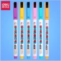得力s602荧光笔彩色 重点标记圈划笔荧光记号笔