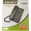 【售完即止】电话机 家用办公电话座机 babaLT 固定电话 来电显示 无免提功能 白色
