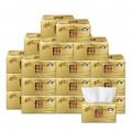 清风金装原木软包抽纸 3层150抽 抽取式面巾纸 20包装整箱装