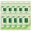 清风湿巾 绿茶系列湿巾纸 10片装/袋 单片独立包装 湿纸巾