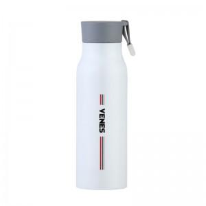 VENES菲驰保温杯保温瓶 350ml运动瓶 运动旅行便携杯子水杯口杯 1只装 VB123